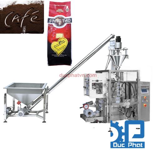 Máy đóng gói bột cà phê Đức Phát
